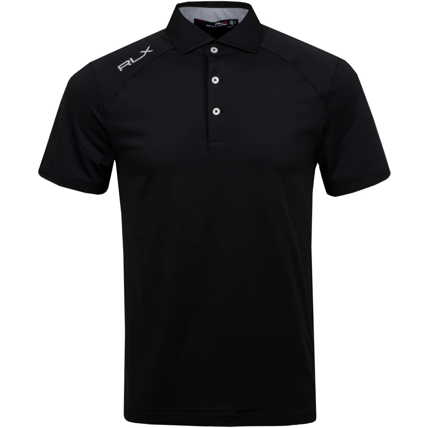 Active Featherweight Jersey Polo Black - SS20