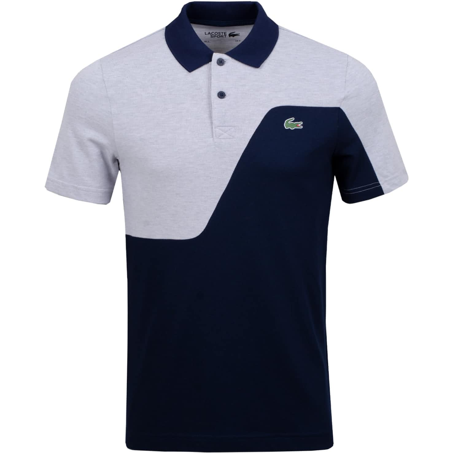 Ultra Dry Wave Polo Navy/Silver Chine - SS20