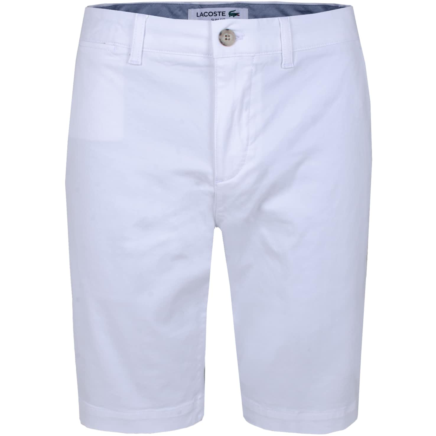 Slim Fit Chino Shorts White - SS20