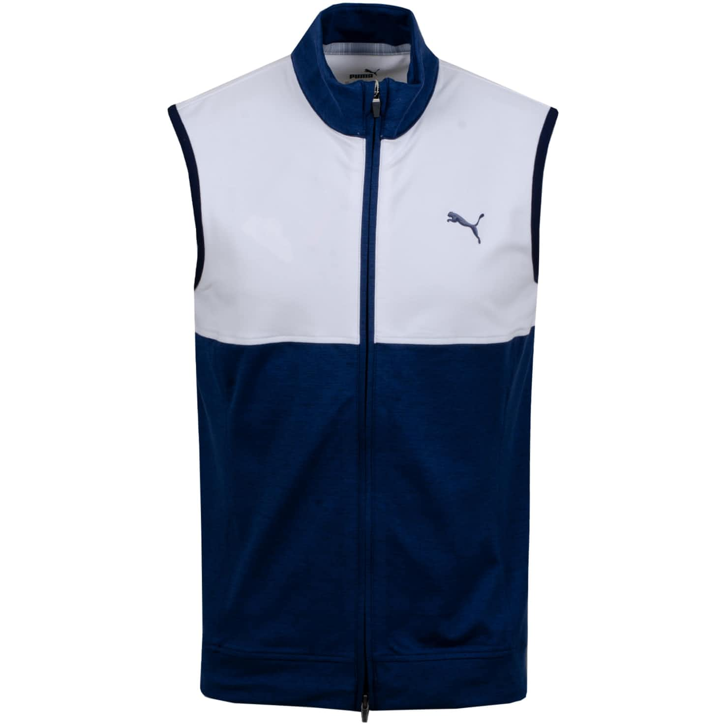 Warm Up Vest Peacoat/Bright White - SS20