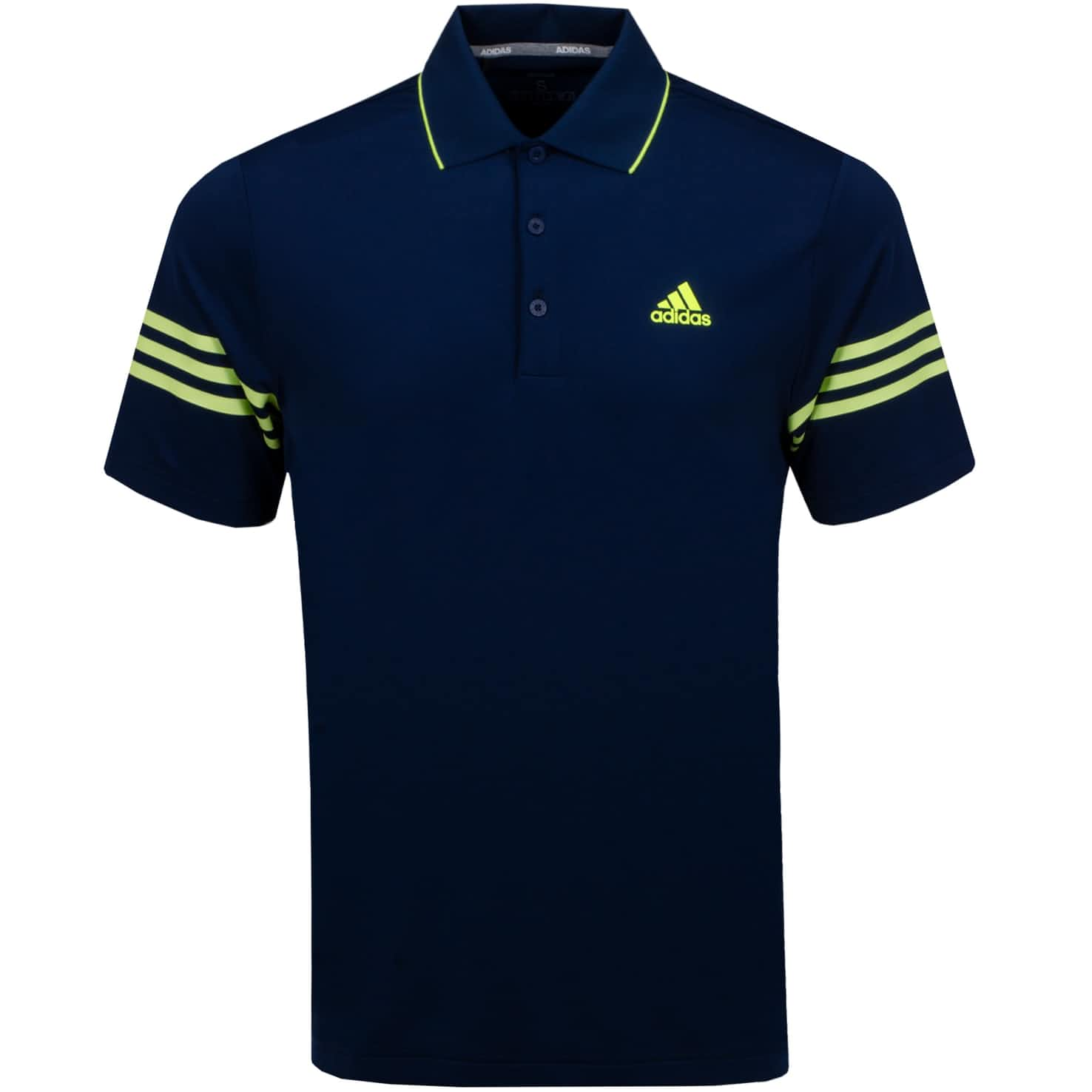 Ultimate 365 Blocked Polo Collegiate Navy - SS20