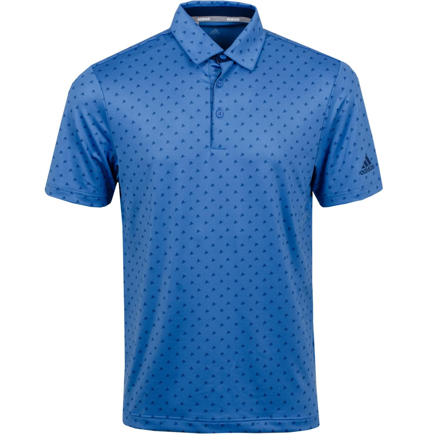 Ultimate 365 Print Polo Trace Royal/Collegiate Navy - SS20