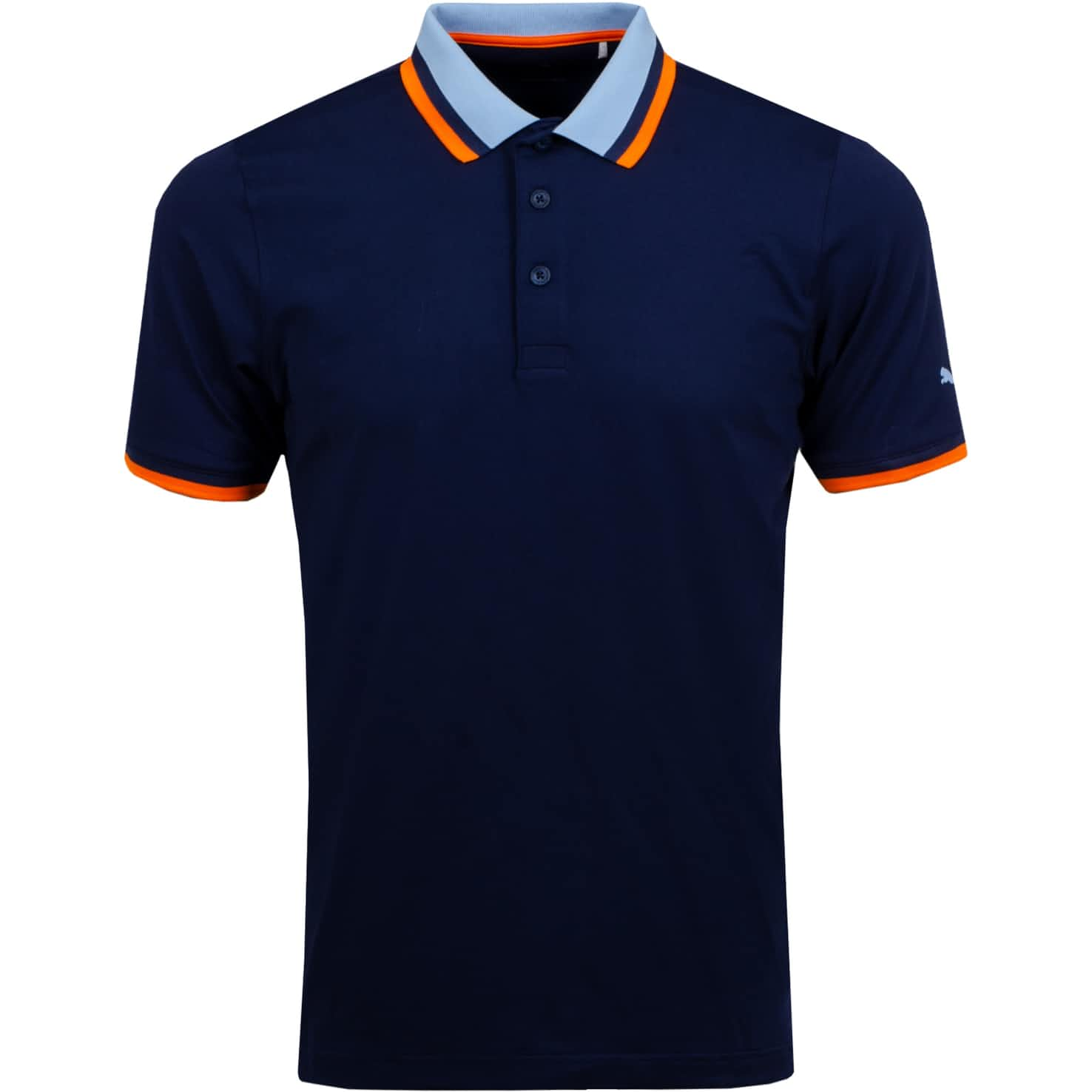 X Tipped Polo Peacoat - SS20