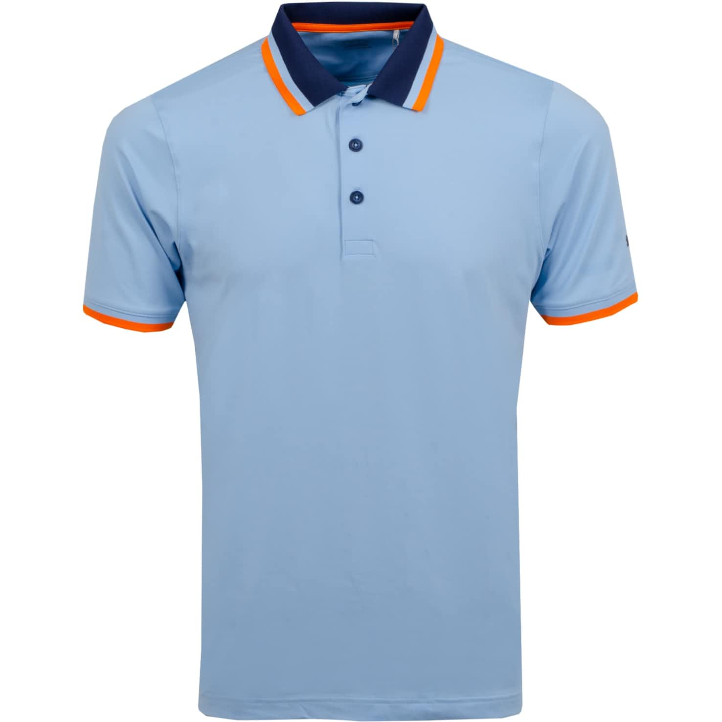 X Tipped Polo Blue Bell - SS20