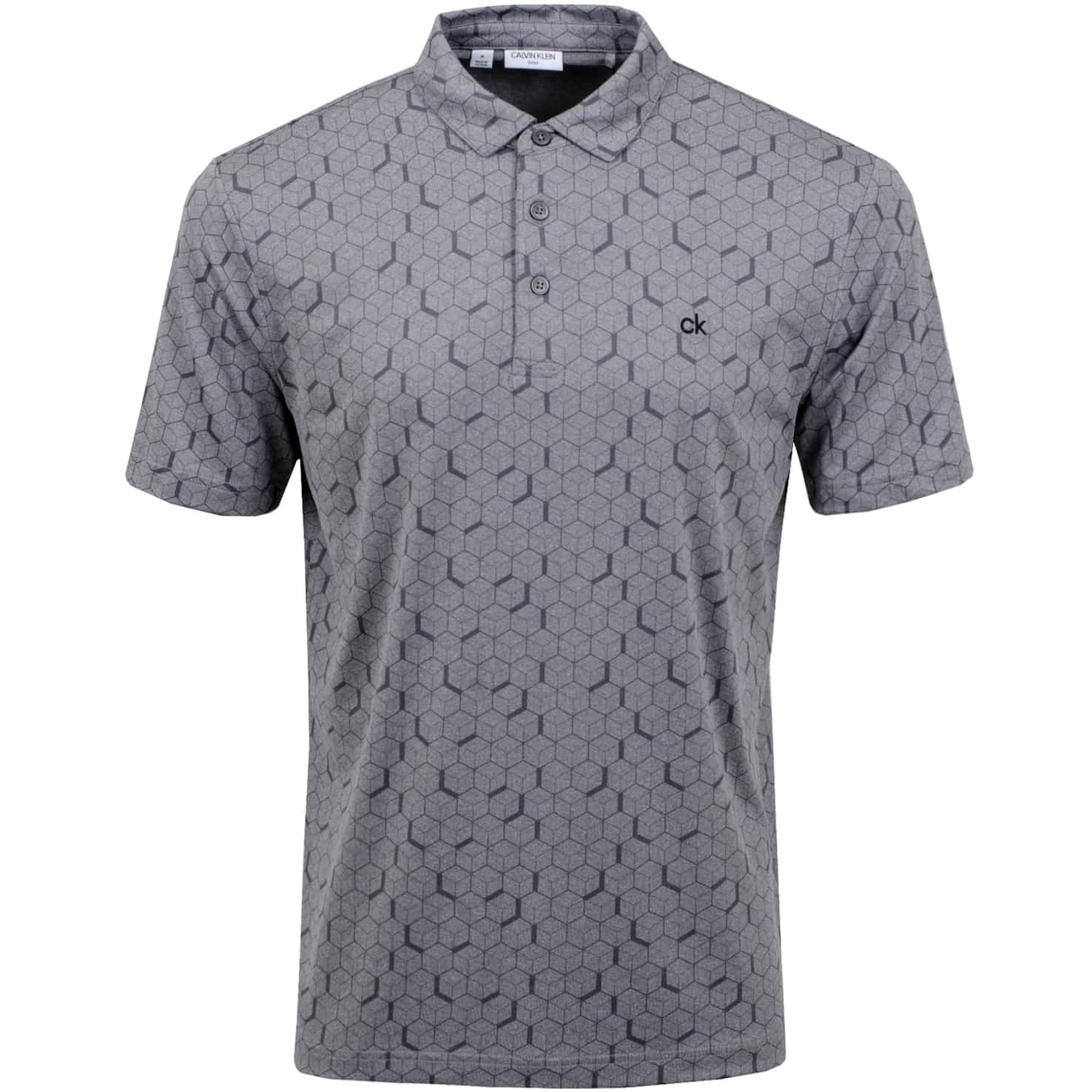 Rock Face Polo Silver Marl - SS20