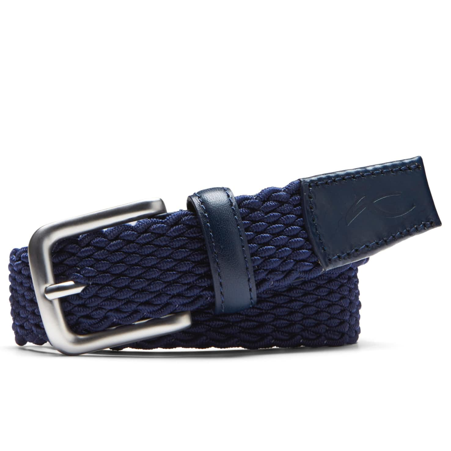 Womens Lucy Webbing Belt Atlanta Blue - SS20