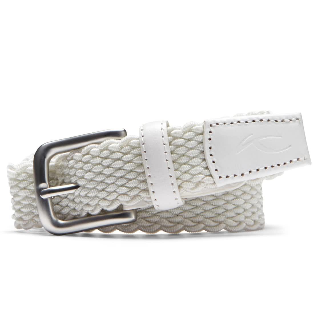 Womens Lucy Webbing Belt White - SS20