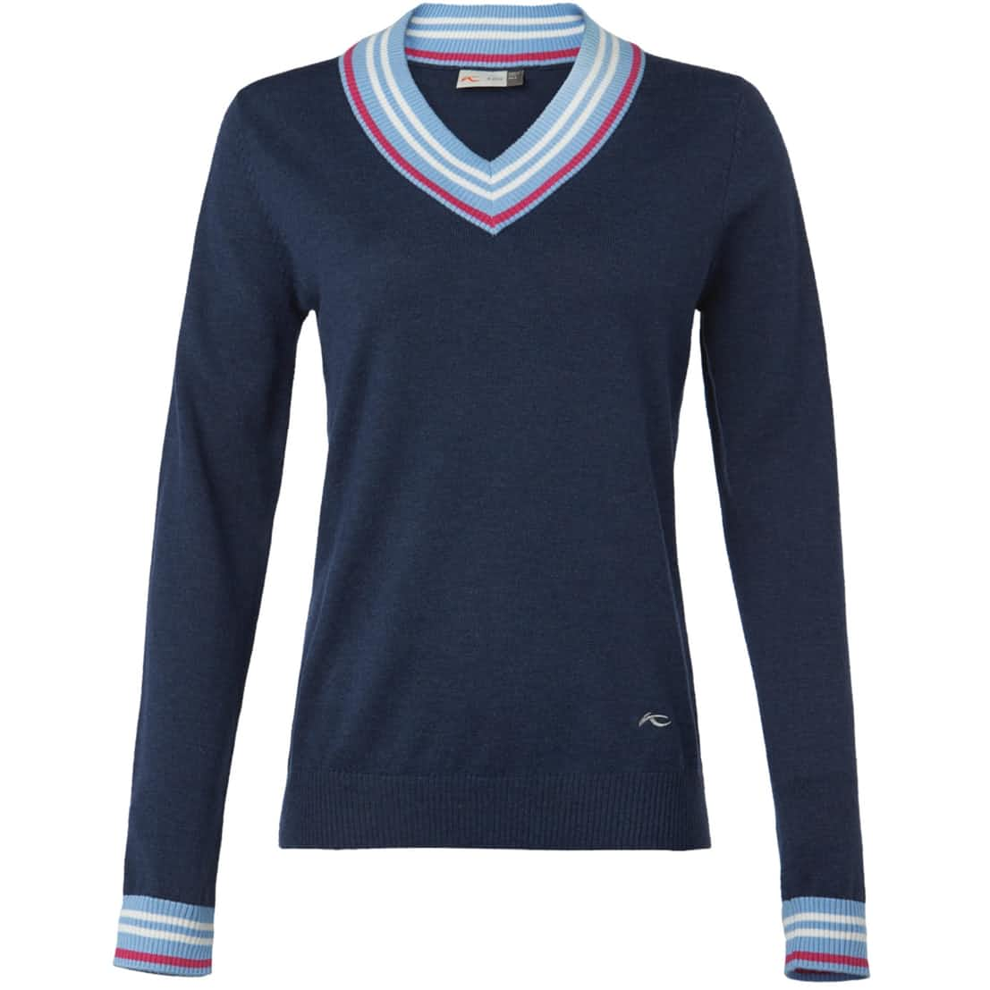 Womens Karen V-Neck Pullover Atlanta Blue/Vista Blue - SS20