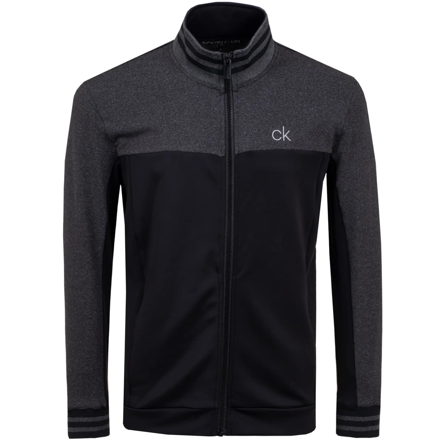 Retro Performance Full Zip Black - SS20