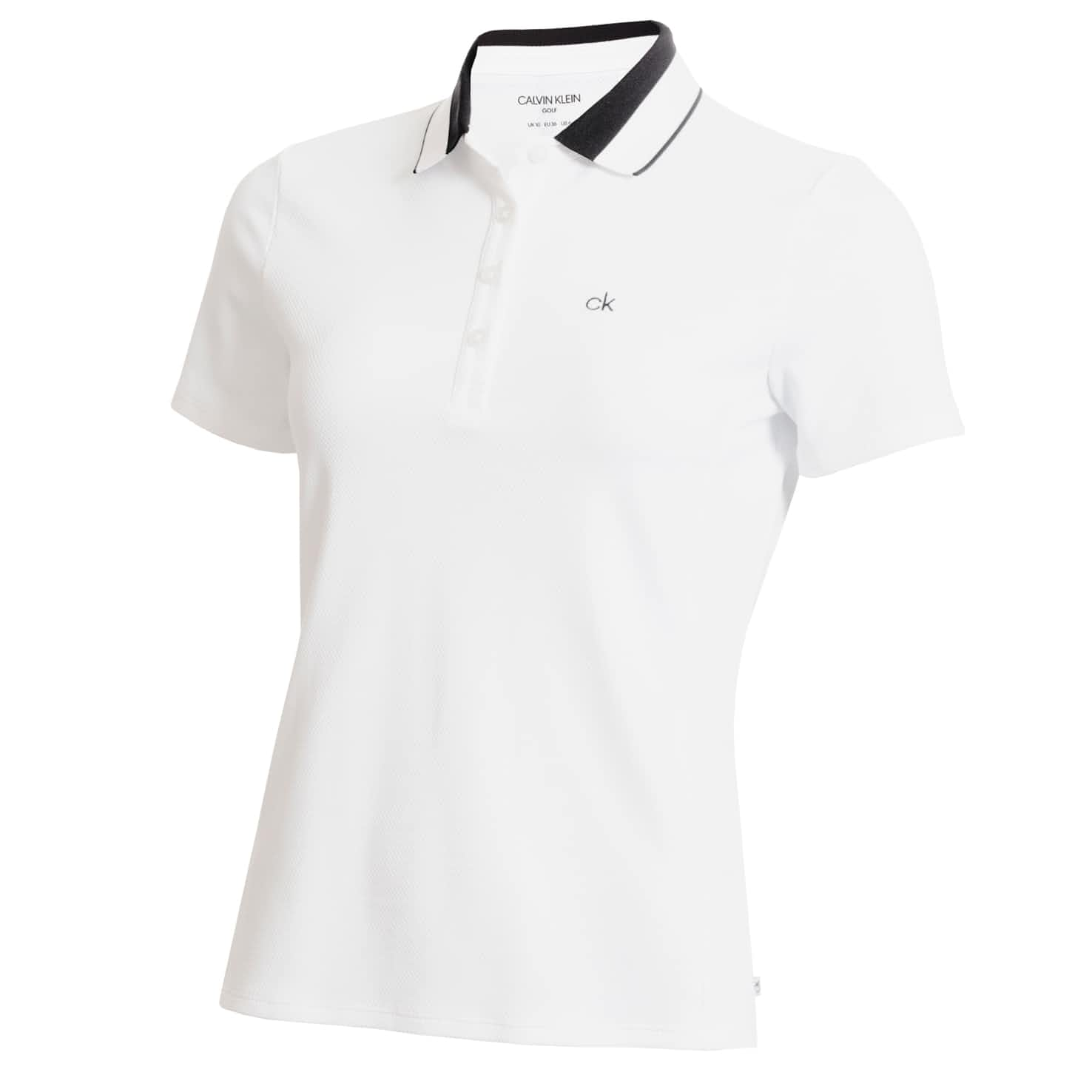Womens Kirby Polo White - SS20