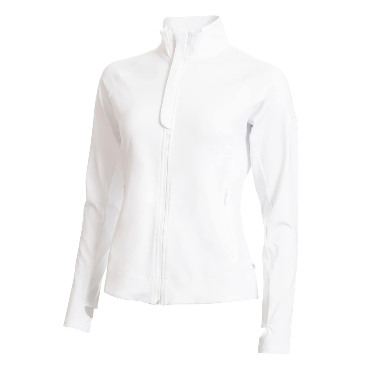 Womens Tuscan Tech Top White - SS20
