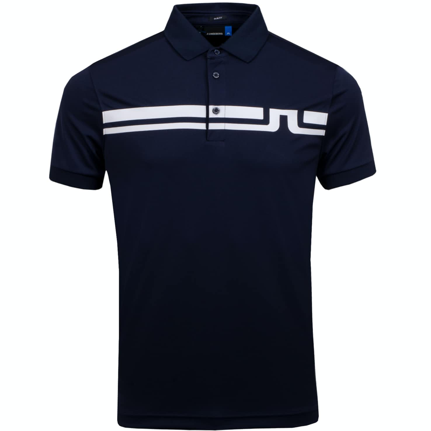 Eddy Polo Slim Fit TX Jersey JL Navy - AW19