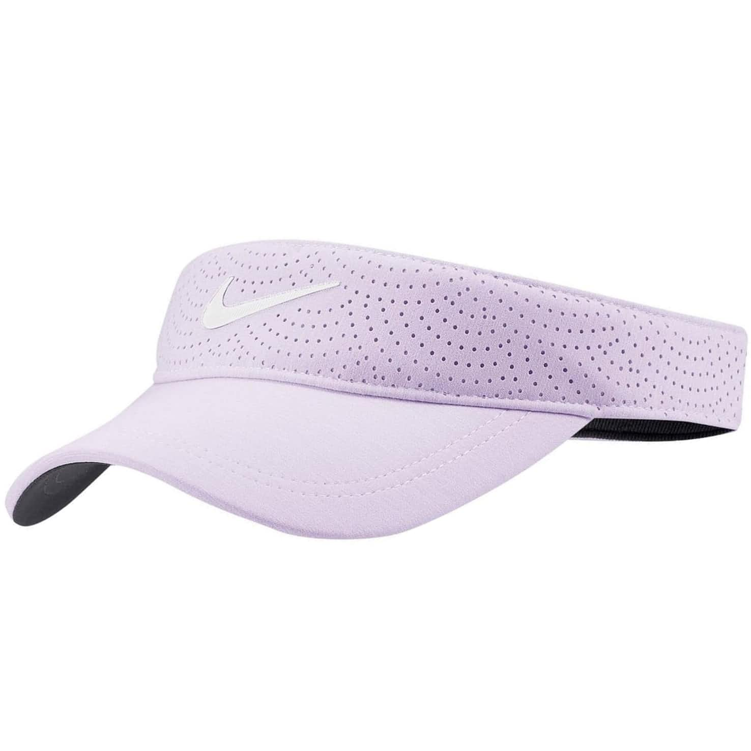 Womens Aerobill Visor Barely Grape - SS20