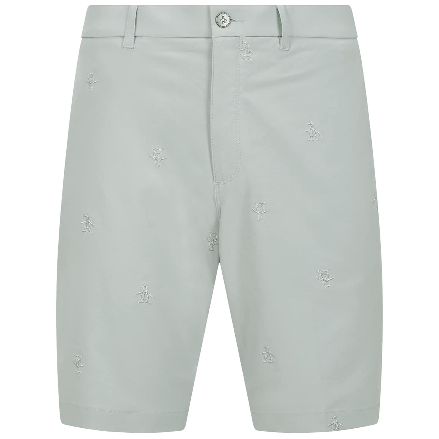 All Over Pete Embroidered Shorts Pearl Blue - SS20