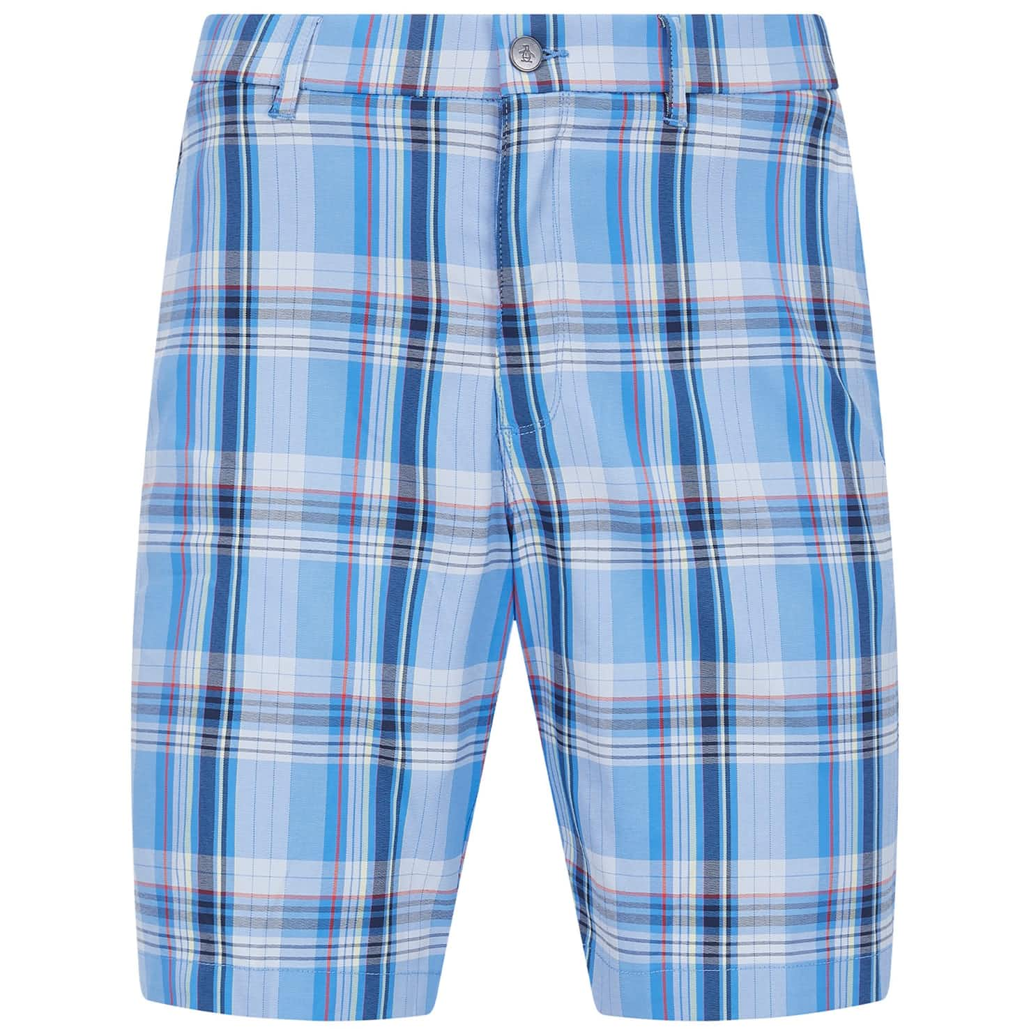 Yarn Dye Roadmap Plaid Shorts Regatta - SS20