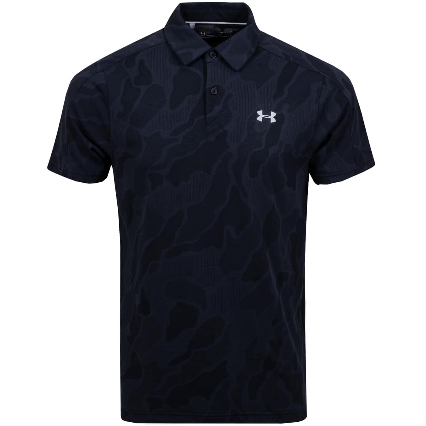 Vanish Jacquard Polo Black - SS20