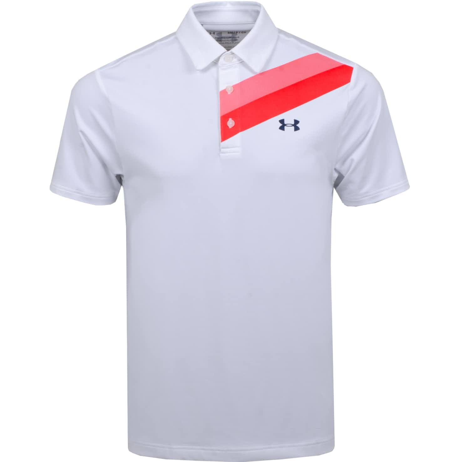 Playoff Polo 2.0 Shoulder Graphic White/Beta - SS20