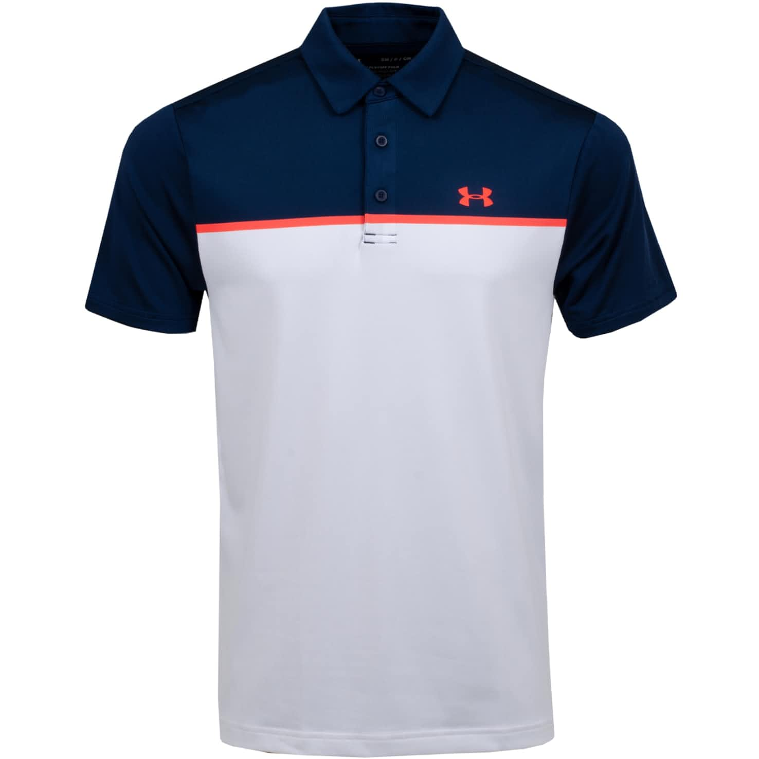 Playoff Polo 2.0 Chest Engineered Academy/White/Beta - SS20
