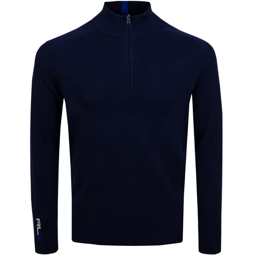 Thermocool Half Zip Sweater French Navy - 2021