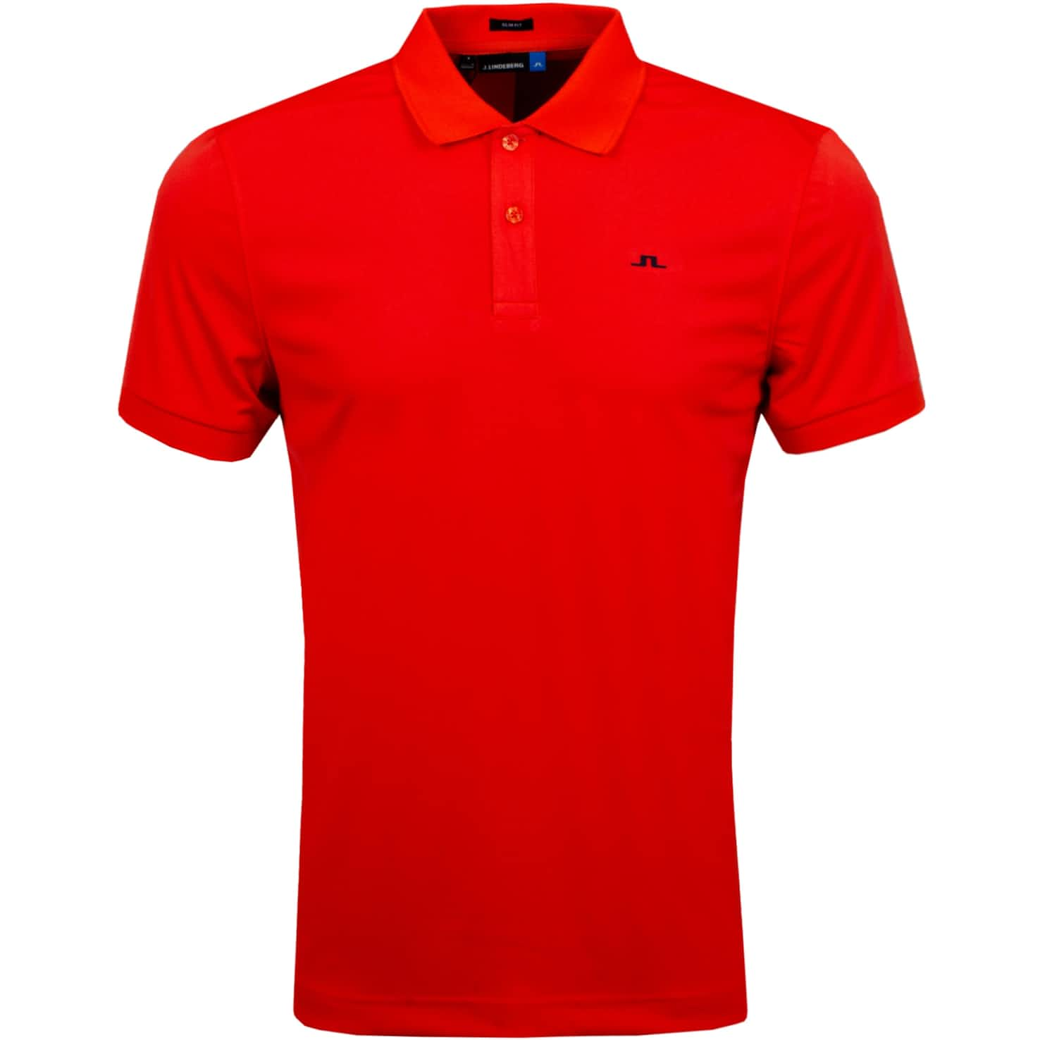 Beau Slim Fit Recycled TX Jersey Tomato Red - SS20