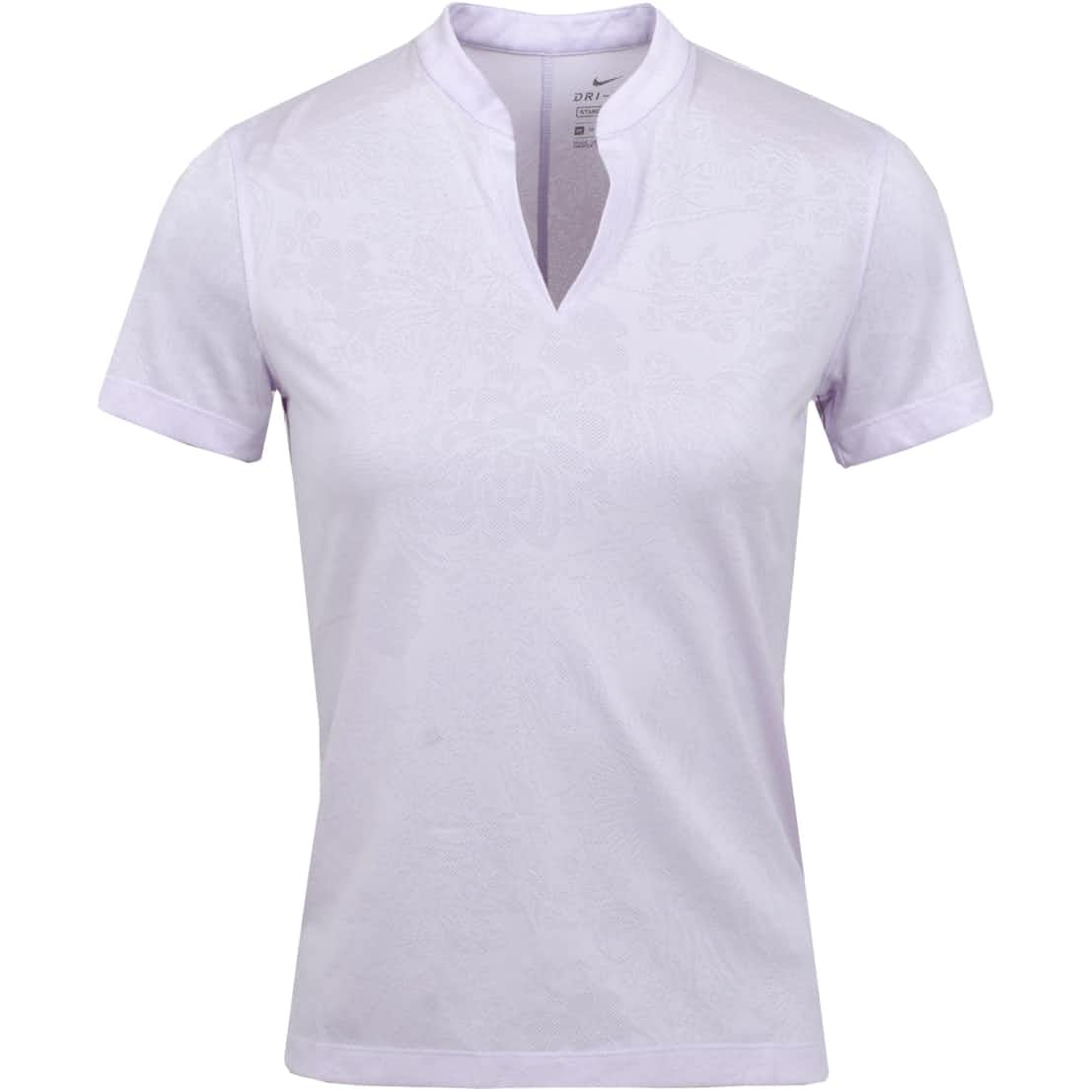 Womens Breathe Jacquard Ace Polo Barely Grape - SS20
