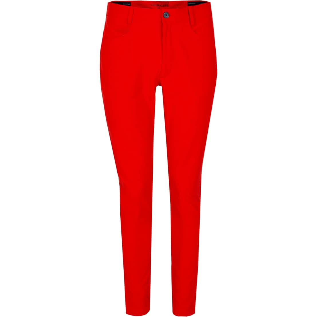 Genius Four-Way Stretch Trousers Fiery Red - SS20