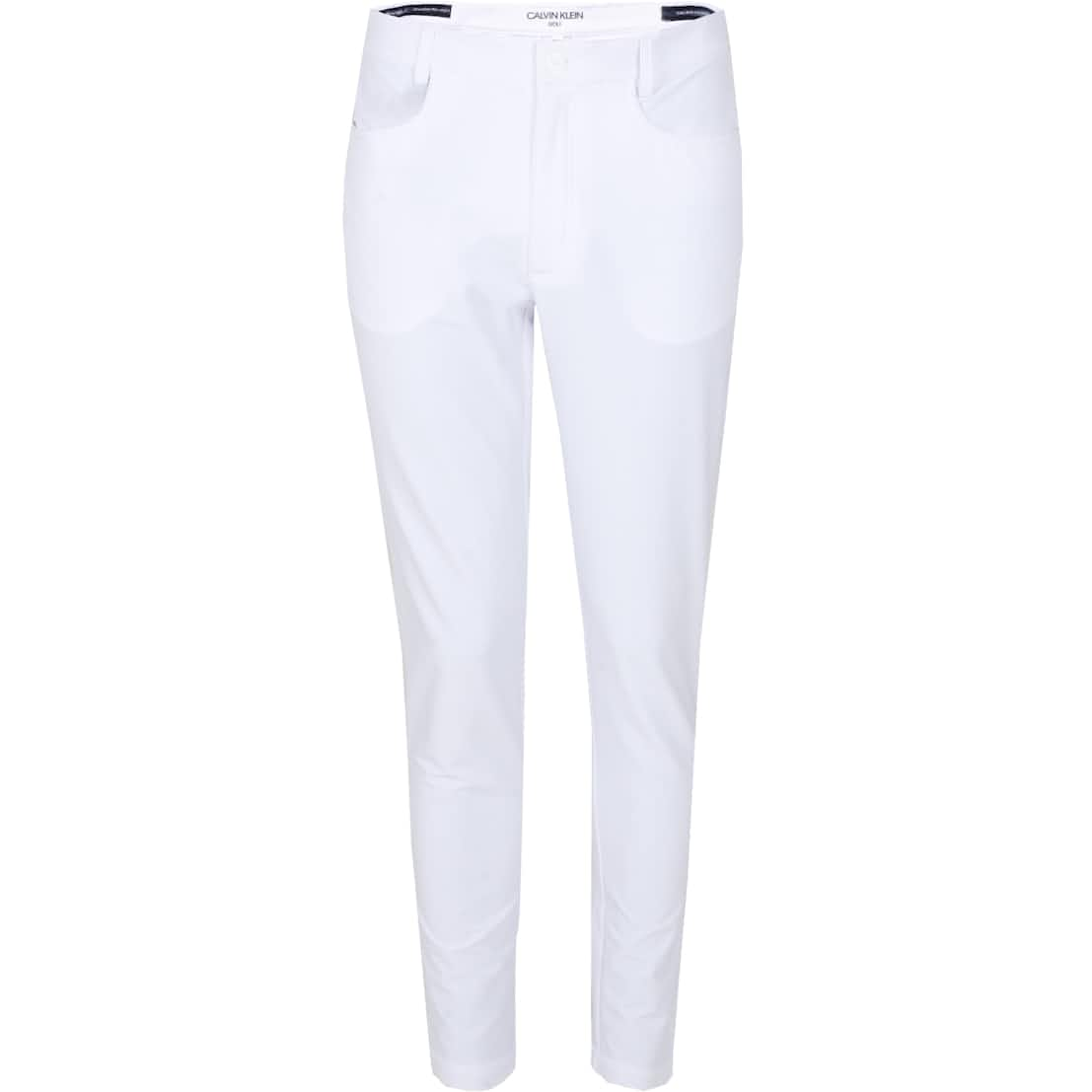 Genius Four-Way Stretch Trousers White - SS20