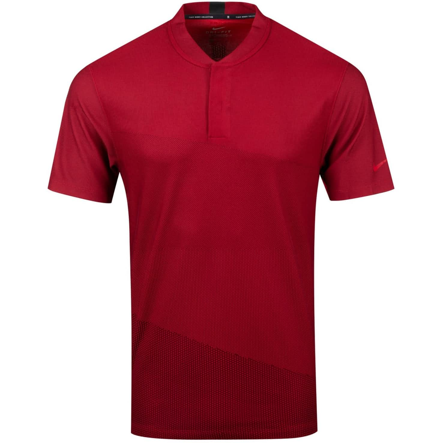 Nike TW Dry Polo Mock Neck Polo Gym Red - Summer 20