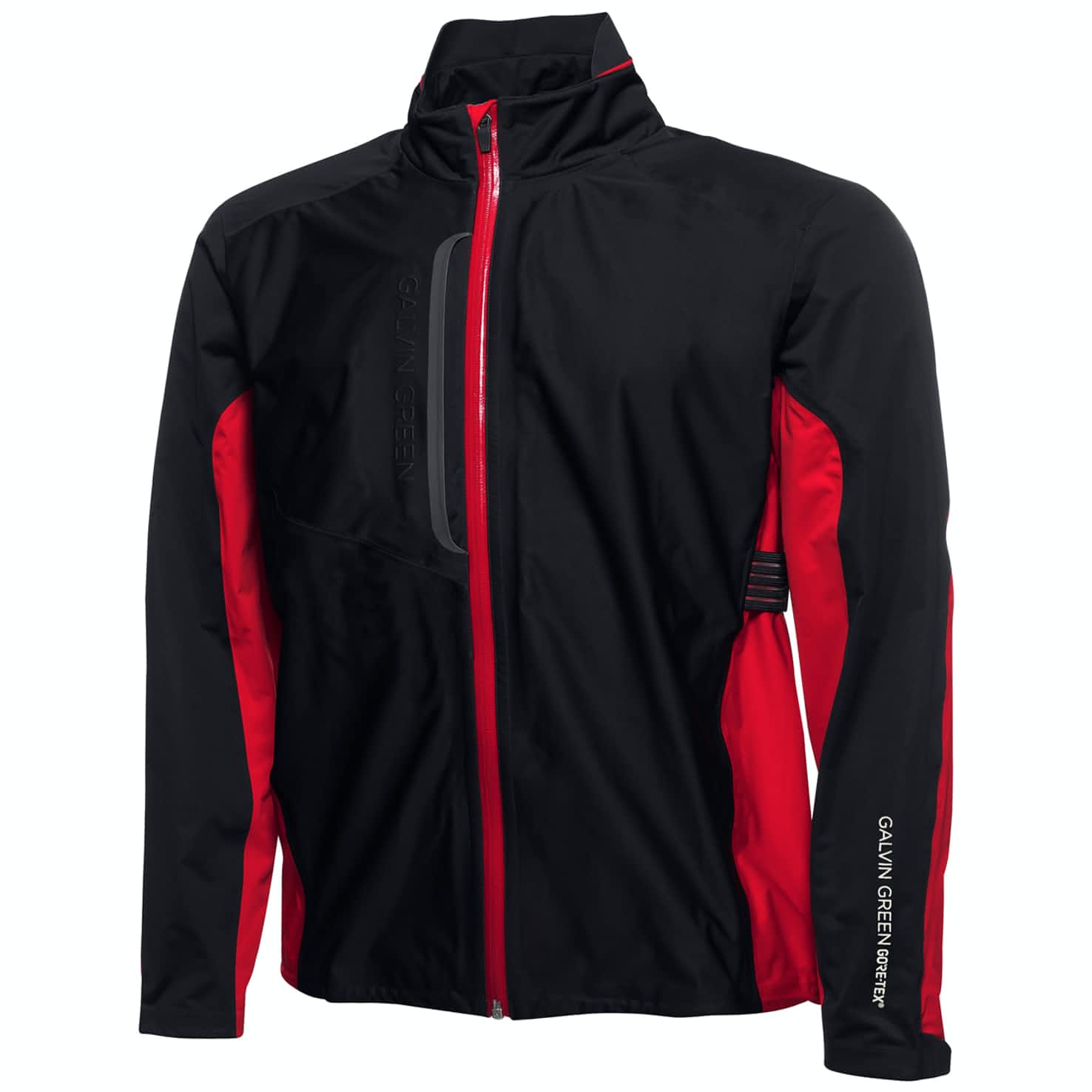 Al Gore-Tex Stretch Jacket Black/Red - 2019