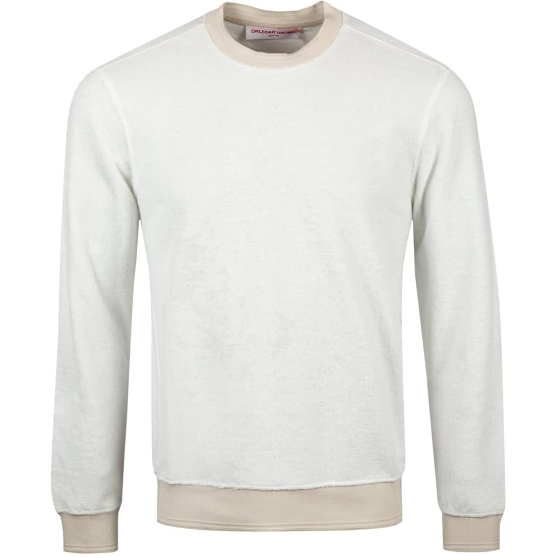 Pierce Towelling Crew Knit Almond - Summer 20