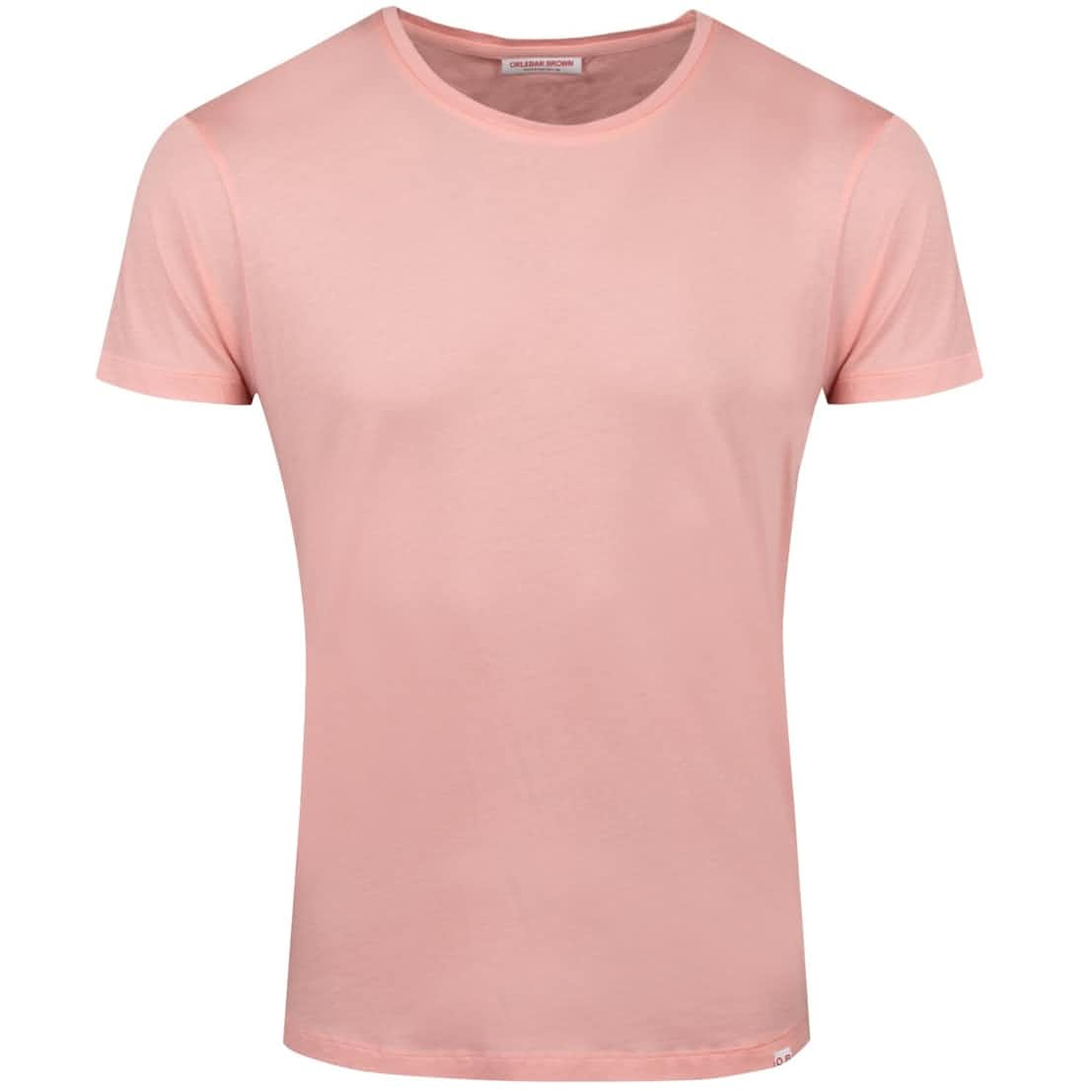 OB-T Round Neck T-Shirt Sundown Pink Melange - Summer 20