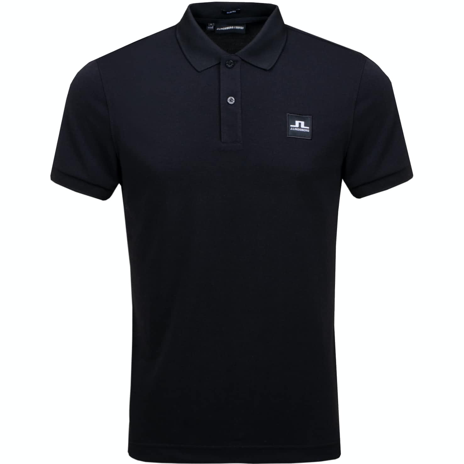 J.Lindeberg x TRENDYGOLF Cool Pique Black - 2019