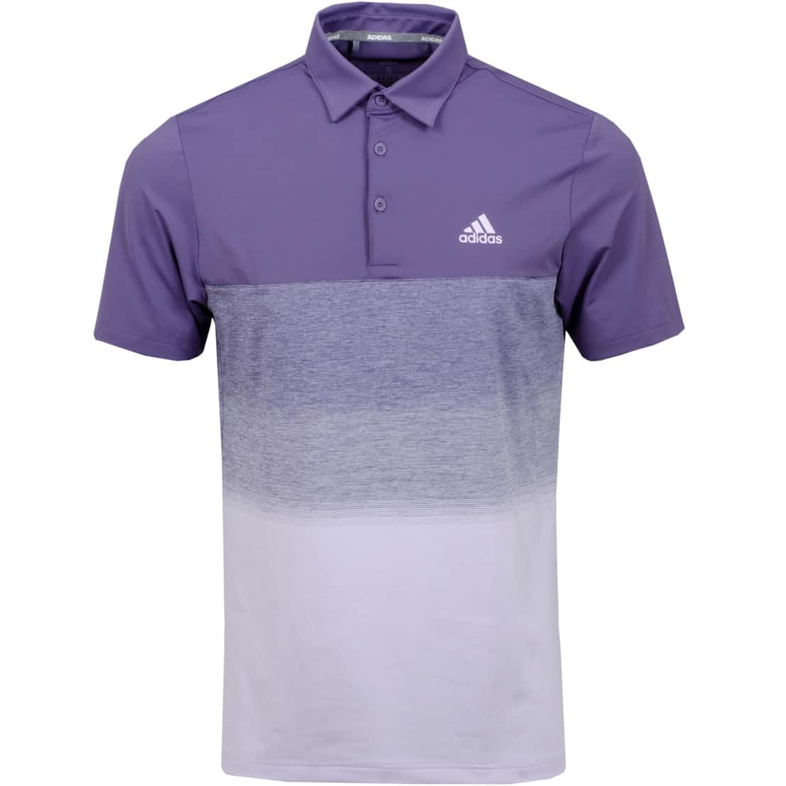 Ultimate 365 1.1 Print Polo Purple Tint - SS20