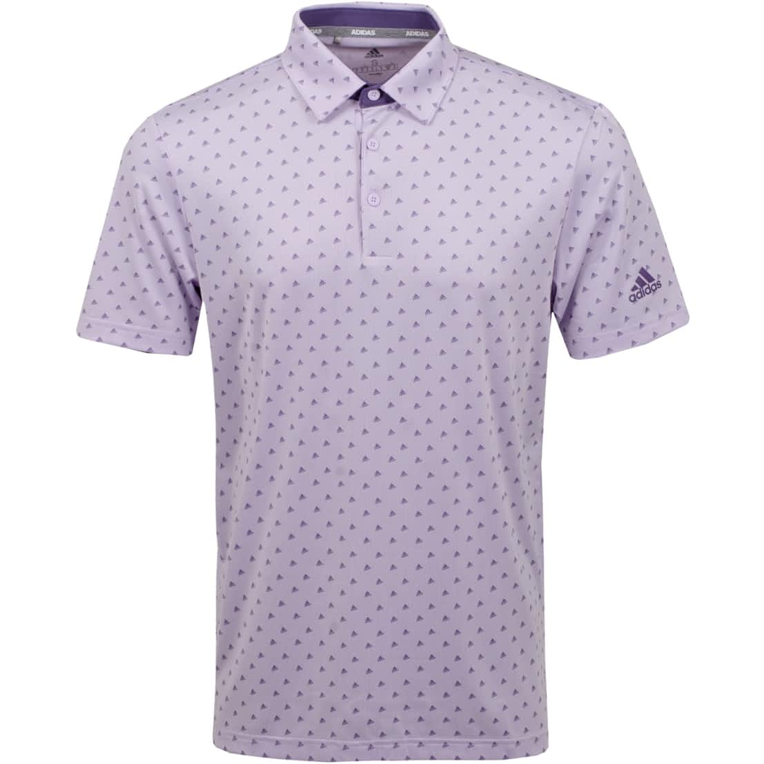 Ultimate 365 Print Polo Purple Tint - SS20