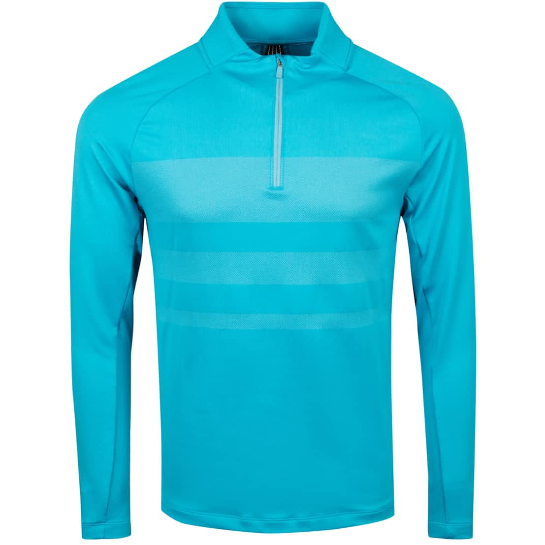 Dry Half Zip Statement Top Blue Fury - Summer 20