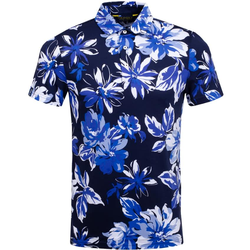 Printed Pima Jersey French Navy Sea Floral - SS20