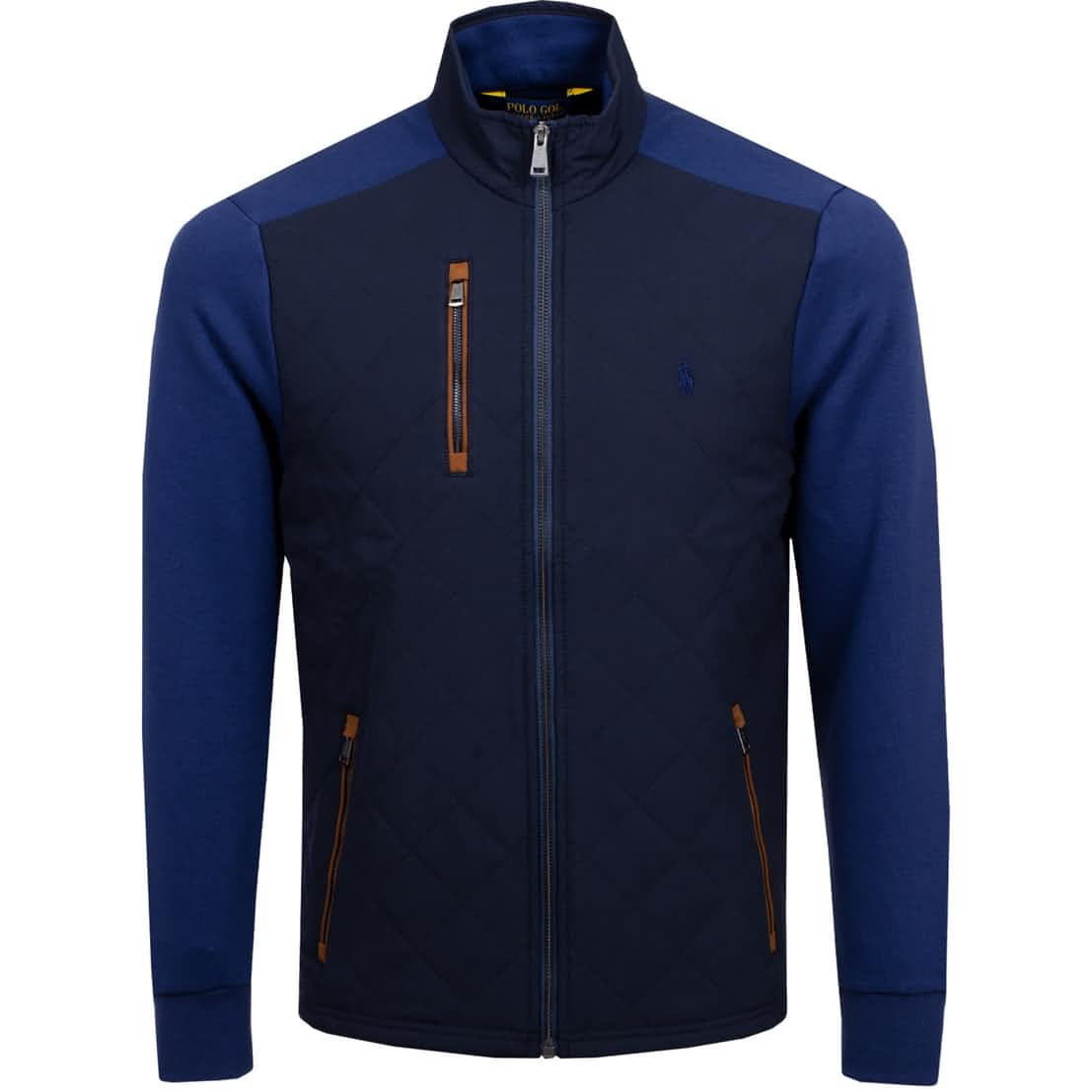 Double Knit Quilted Jacket French Navy - SS20