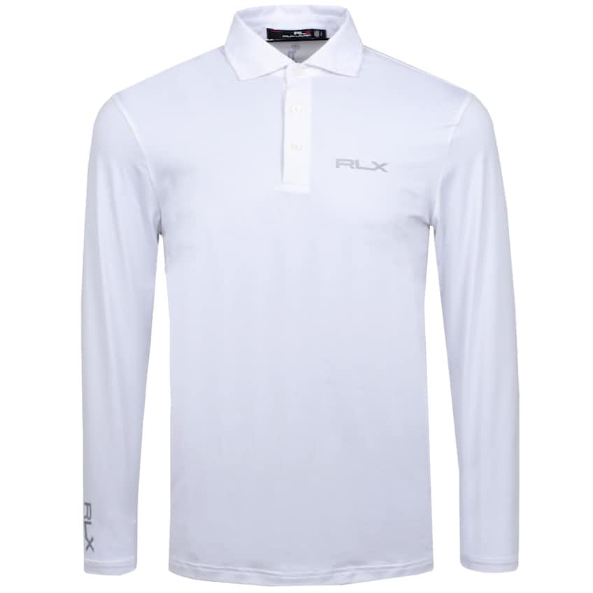 LS Solid Airflow Jersey Pure White - 2020
