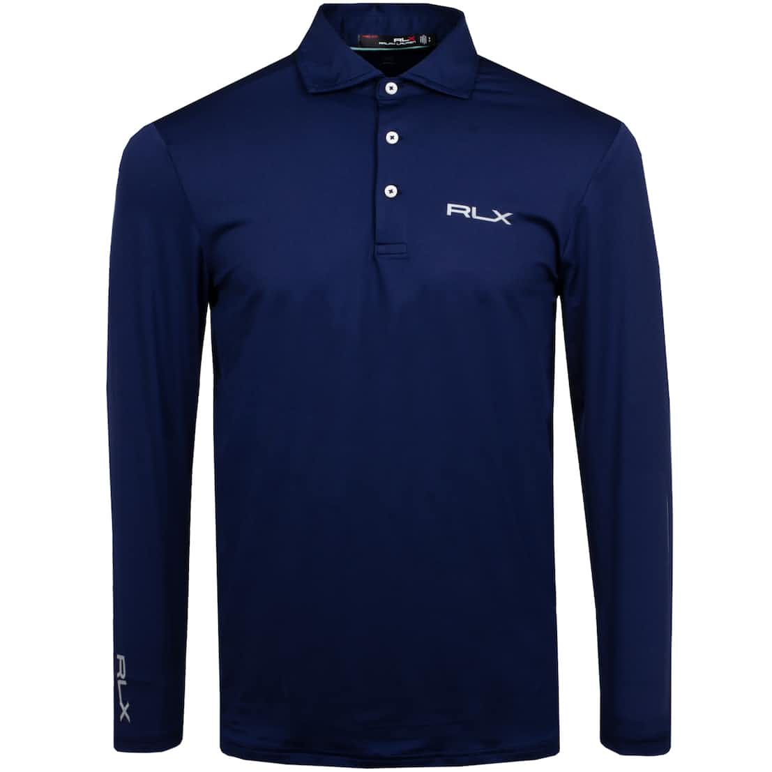 LS Solid Airflow Jersey Navy - SS20