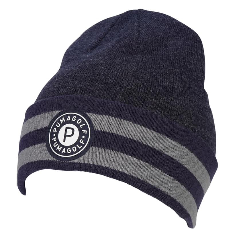 P Circle Patch Beanie Peacoat - AW20