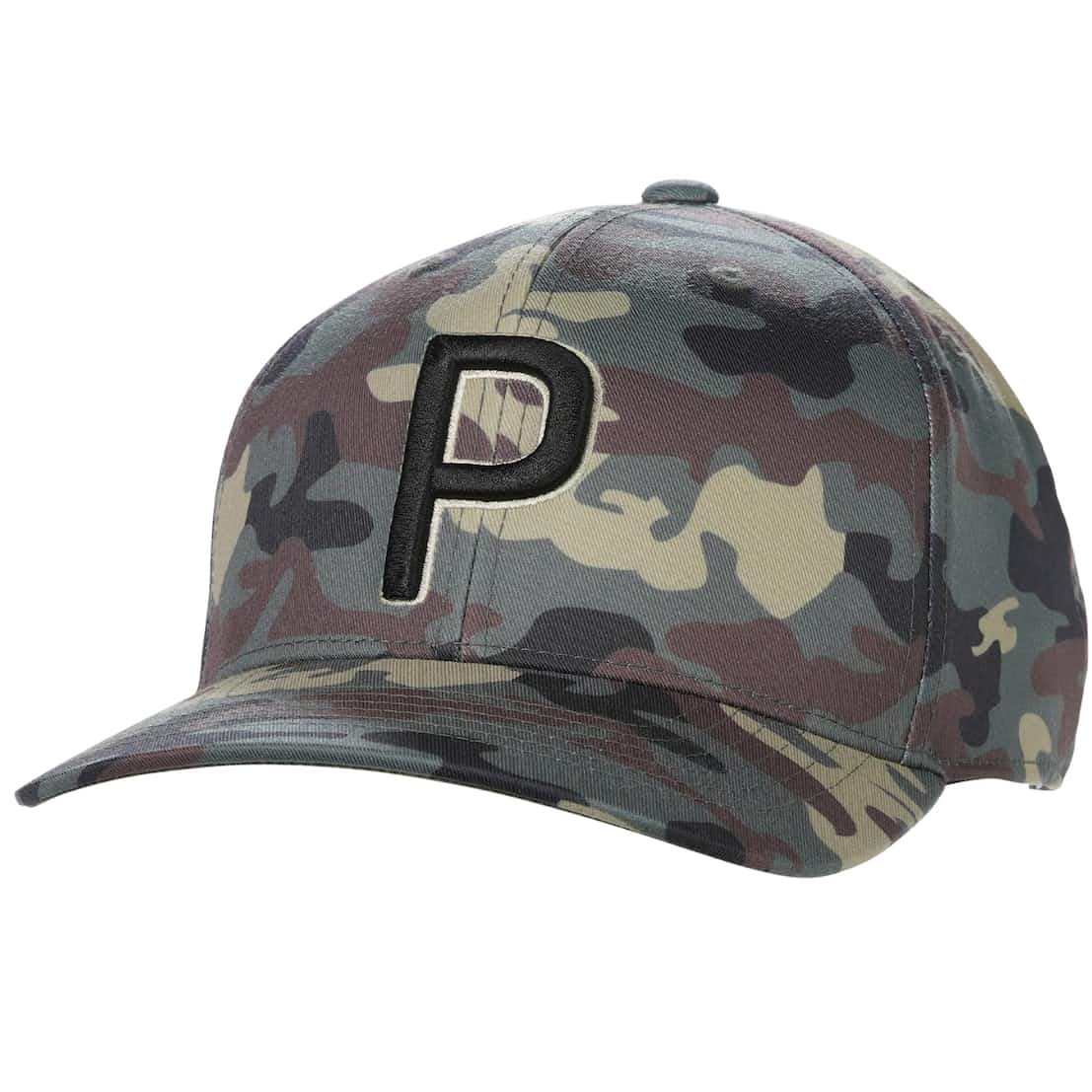 Camo Pattern 110 P Snapback Cap Thyme - AW20