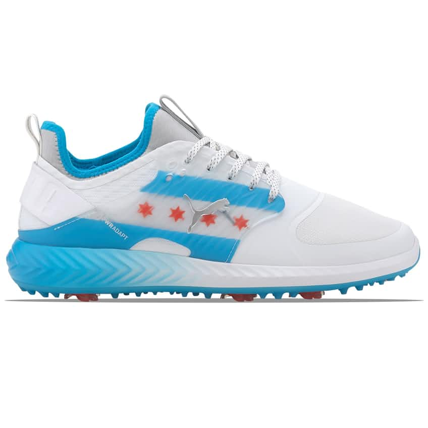 Ignite PWRADAPT Caged CTA White/Dresden Blue/High Risk Red - AW20