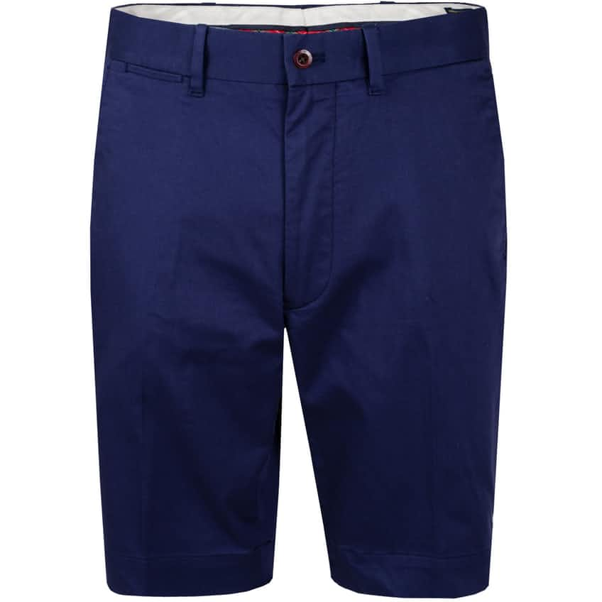 Tailored Fit Chino Short French Navy - AW20
