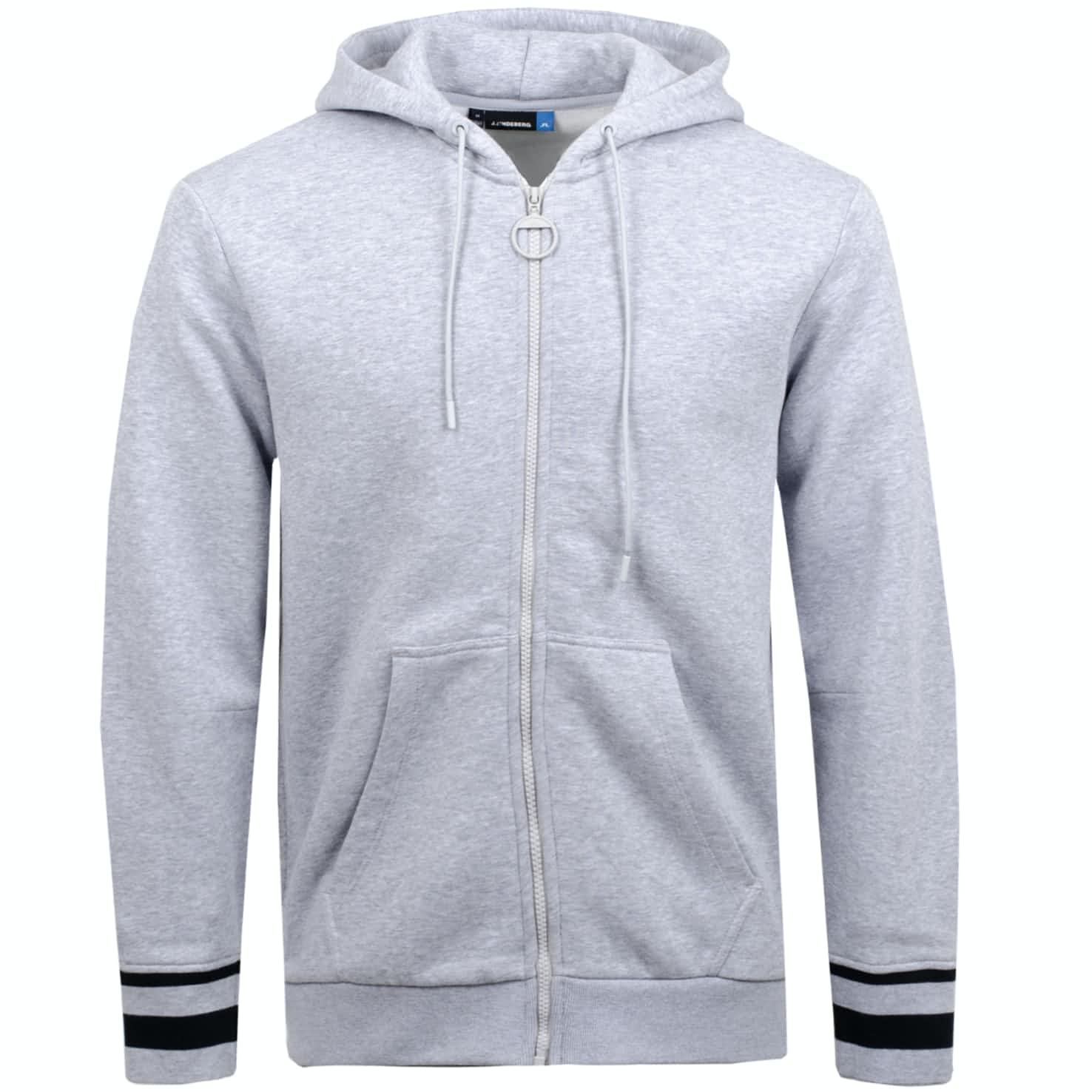 Cyrus French Terry Hoodie Stone Grey Melange - 2019