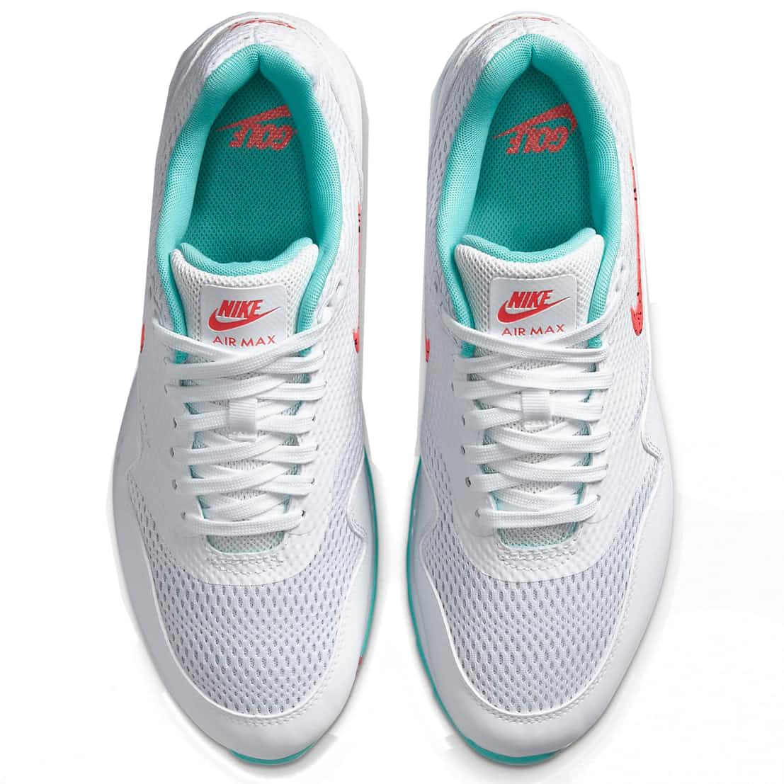 Nike Air Max 1 G White Hot Punch Golf Shoes Trendygolf Com