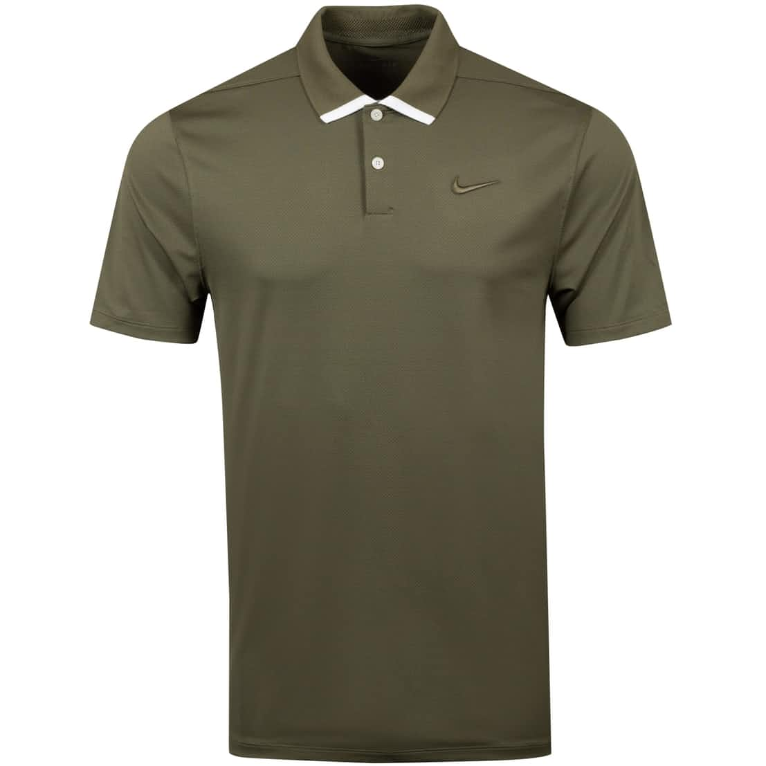 Dry Vapor Solid Polo Medium Olive - AW20