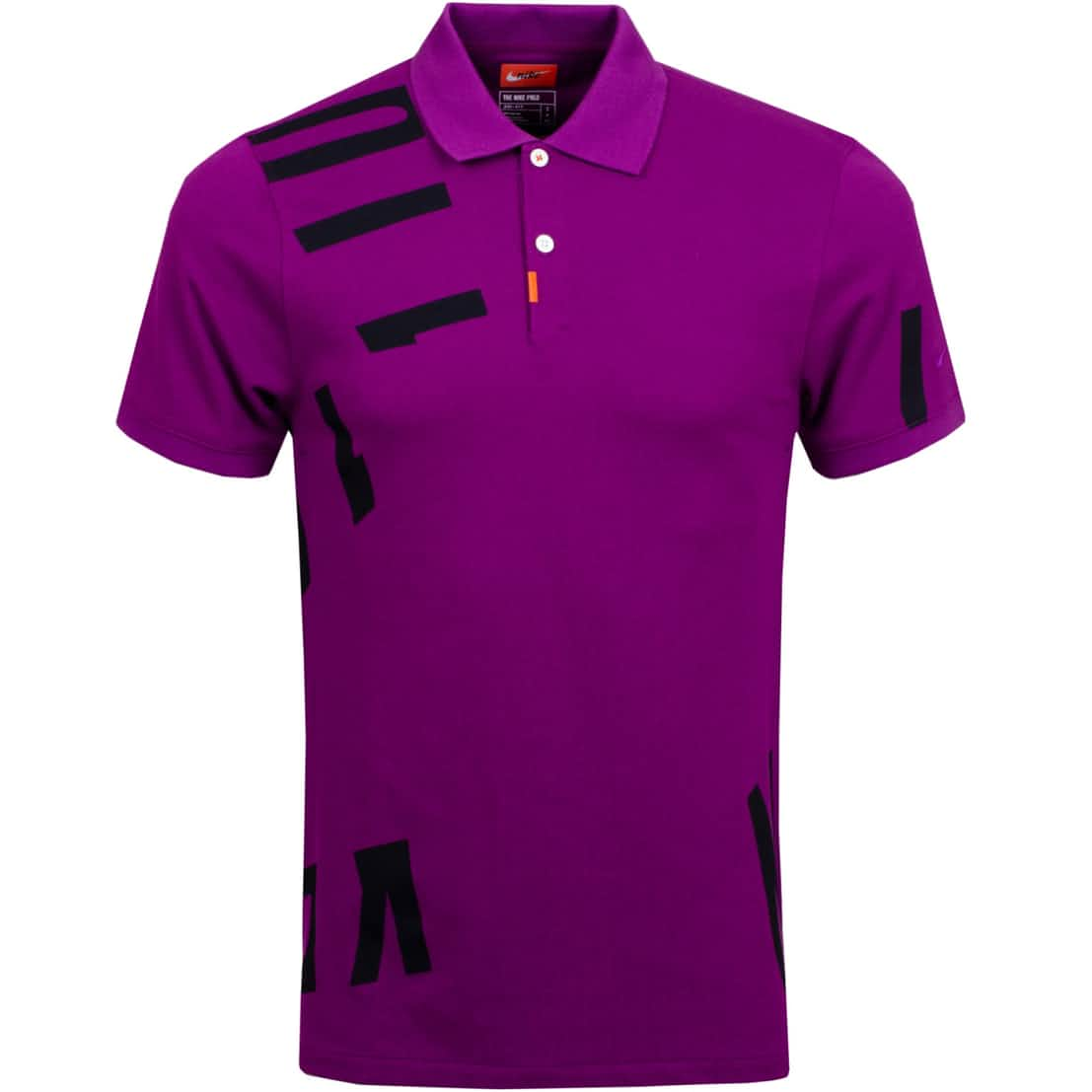 The Golf Hacked Slim Polo Bright Grape - AW20