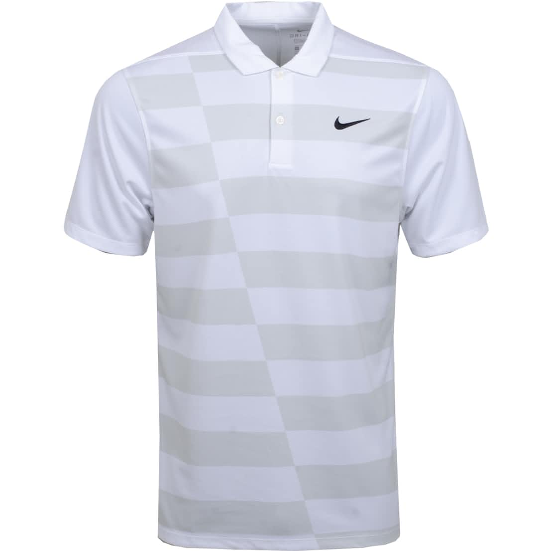 Dry Essential Graphic Hacked Polo White - AW20