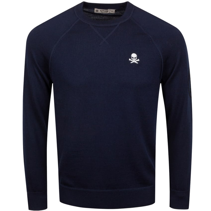 x TRENDYGOLF Skull Crewneck Sweater Twilight - 2021