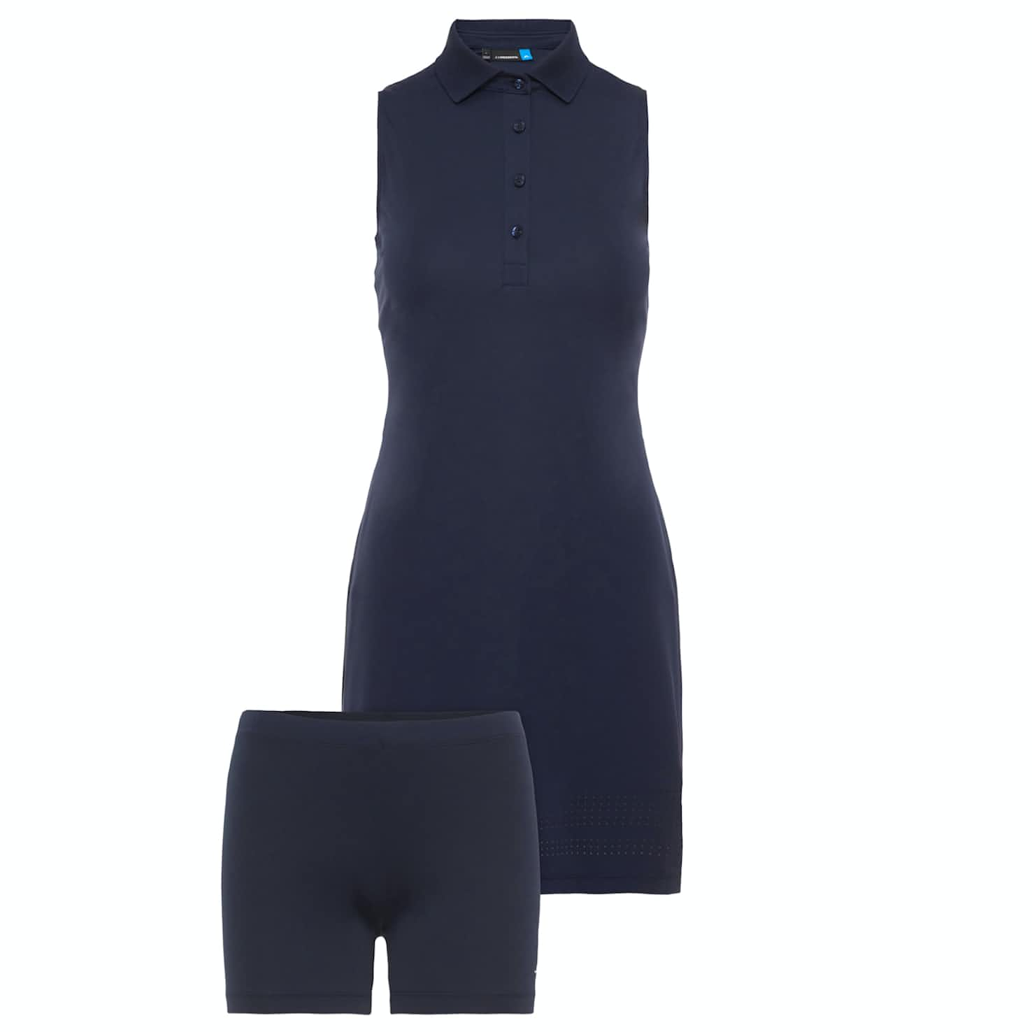 Womens Reeta TX Jersey Dress JL Navy - AW18
